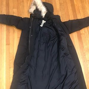 L.L Bean long winter parka size L